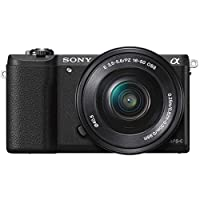 Sony Alpha a5100 with 16-50mm Lens, Mirrorless Camera, Black