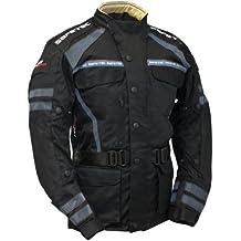 Roleff Racewear 456KXXL XXL Short Textile Motorcycle Trouser Black