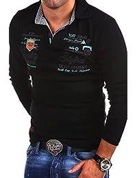MT Styles Langarm Poloshirt EXCURSION T-Shirt R-0657