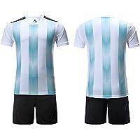 GDSQ 2018 Equipo Nacional Argentina Camiseta De Fútbol De Manga Corta Camiseta De Los Fanáticos Camiseta
