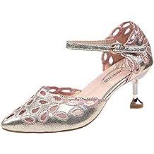 Luckycat Zapatos Baile Mujer Latino Salsa Rumba Tango Salón Zapatillas Ballroom Zapatos de Baile Latino para