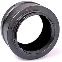 Polaroid pl-bam42m43Adapter for Camera Lenses–Lens adapter to Micro Four Thirds Camera (M42, Aluminium, black, Olympus, Panasonic)