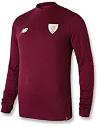 7e49c925e7bd0 New Balance - Athletic Bilbao Sudadera 18 19 Hombre Color  Granate Talla   2XL