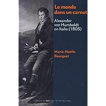 Le monde dans un carnet. Alexander von Humboldt en Italie (1805)