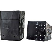 Hydrofarm HGB3GAL - Pack de 500 bolsas de cultivo de 11,4 l