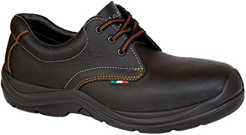 Giasco ac810bp36 Mozart Scarpe di sicurezza Basso S3 Nero, Nero, AC810BP45 | Prestazioni Superiori  | Uomini/Donne Scarpa