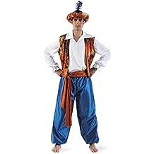 Limit Sport - Disfraz de tuareg Aladín para hombre, talla M (MA162)