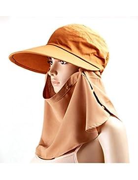 Cappello da sole Moda signora estate grandi gronda cappello di Sun Protezione solare berretto Adottare un cappello...