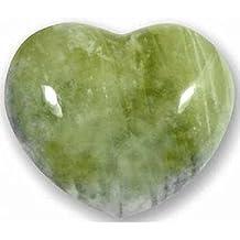 Neue Jade–herzförmigem Stein echtem Edelstein AVN