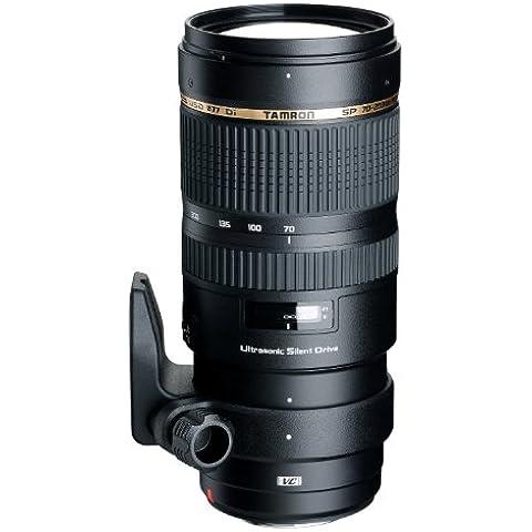 Tamron A009E distancia focal 70-200mm, apertura f/2.8, zoom óptico 1.8x, estabilizador óptico, macro, diámetro 77mm Objetivo para Canon