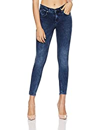 Symbol Amazon Brand Women's Mid Waist Skinny Jeans