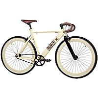 Moma Bikes Bicicleta Fixie Urbana, Fixie MUNICH CASUAL, Full Alu (Varias Tallas)