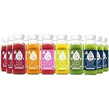 3 Tage Detox Saftkur von pressbar – 24 Flaschen kaltgepresste Säfte für Deine Diät - mit hochwertigen und geschmacksintensiven natürlichen Obst & Gemüse Säften – nicht wärmebehandelt, ohne Zuckerzusatz
