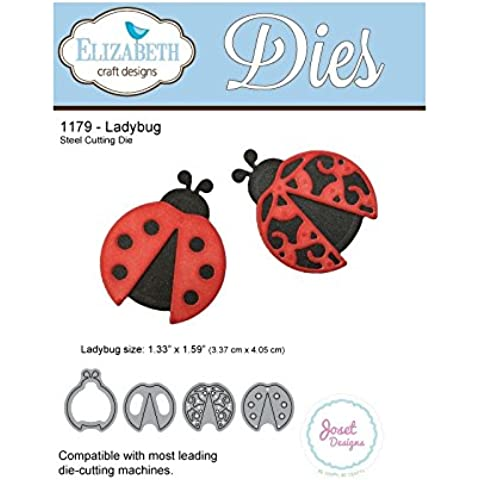 Elizabeth Craft Designs Mariquita Die, metal, color gris
