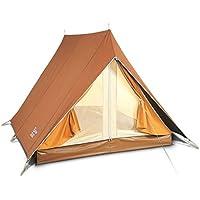 Bertoni Tende Capri 200 Tenda da Campeggio Canadese, 4 Posti, Marrone, Unica