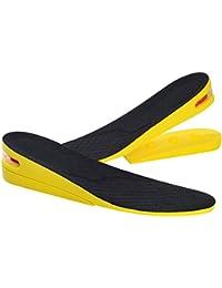 Unisex 1 Paar Erhöhung Einlegesohlen Höhe Schuheinlagen Fersenerhöhung 2//3//4cm