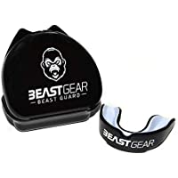 Protège-dents Beast Gear / Gouttière Coque Dentaire Protege Dent – pour Boxe, MMA, Rugby, Muay Thai, Hockey, Judo, Karate, Arts Martiaux et Sports de Combat et Contact
