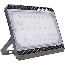 GOSUN 100W Faretto LED, Pari ad alogena da 950W 9000LM Bianco Diurno,3 anni di garanzia