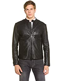 best service bd3e3 8ecca Amazon.it: giacca di pelle uomo - Emporio Armani / Giacche ...