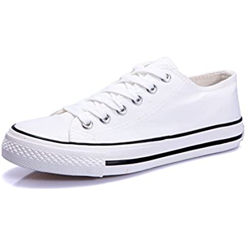 YUE Scarpe di tela in bianco e nero/Donne scarpe basse/Scarpe casual