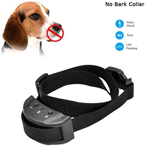 Collare di Cane Scossa Elettrica Training no Barking/anti Bark Pet Trainer Prodotti Per Cani