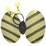 Fashion Accessory BUMBLE BEE WINGS DEELEY BOPPER HEADBAND FANCY DRESS HEN NIGHTS SCHOOL FUN RUNS