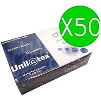 UNILATEX Natürliche Kondome 144UDS X 50uds preisvergleich bei billige-tabletten.eu