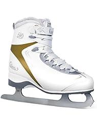 SMJ Sport–Patines de patinaje sobre hielo Lina, todo el año, color multicolor, tamaño 39