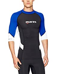 MARES - 412552L/392 : Camiseta proteccion solar manga corta Rash Guard TRILASTIC man
