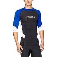 Mares Trilastic S Hombre, Sleeve Rashguard Camiseta, primavera/verano, hombre, color azul, tamaño large