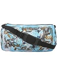 BagsRUs Sporty Blue 13 Liter Duffel Gym Tote Travel Hand Bag (DF107FON)