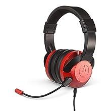 PowerA Fusion Wired Gaming Headset - Crimson Fade, 1512376-01