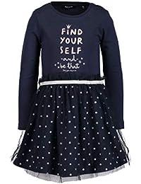 Blue Seven Shirtkleid Kleid Tüll Silberpunkte Blueprint