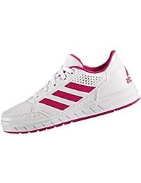 adidas AltaSport K - Zapatillas de deportepara niños, Blanco - (FTWBLA/ROSFUE/FTWBLA), 5