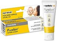 Medela Purelan 37g Crema de Lanolina para Pezones - Alivio rápido para pezones doloridos y piel seca, 100% nat
