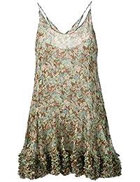 Stella McCartney Mujer 565079SMA958486 Verde Seda Vestido
