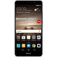 Huawei MHA-L29  Mate 9 Smartphone (14,9 cm (5,9 Zoll), 64GB Speicher, 12 Megapixel Kamera, Android 7.0) schwarz