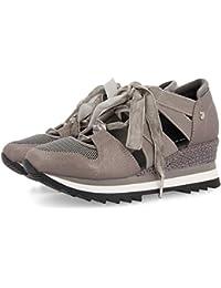 1cccb4f4945 Amazon.es  Plateado - Zapatillas   Zapatos para mujer  Zapatos y ...