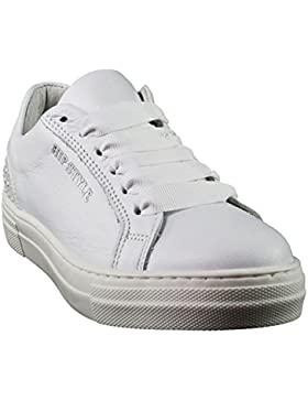 HIP | Mädchen Sneaker | Schnürer - weiß