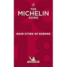 Le guide MICHELIN Main Cities of Europe 2018