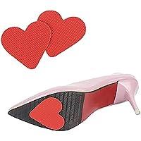 CAREOR 6 Paar Anti-Rutsch Schuh Griff Pads Selbstklebend High Heel Pads Gummi Sohle Displayschutzfolie preisvergleich bei billige-tabletten.eu