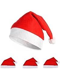New Santa Luxury Christmas Party Hat Xmas Adult Felt Fancy Dress Hats (loc.A9)