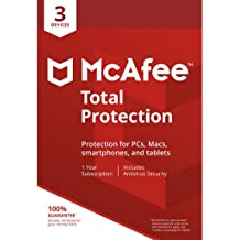 McAfee Total Protection 3 Device [Online Code]