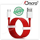 ONCRO® Compatible Dash Rapid Charging and sync USB Type C Cable Suitable for One Plus All Type C Devices 7, 7 Pro, 6T, 6, 5T, 5, 3T, 3 (by FASTX)