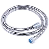 GAPPO Replacement Flexible Shower Hose Anti-Kink & Anti-Explosion Leakproof Stainless Steel Hand Shower Hose with Solid Brass Connector, 1.5M