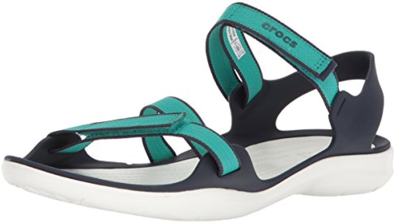 Donna   Uomo Crocs Woman Swiftwater Webbing Webbing Webbing Sandal nero Flagship store Stile elegante Rimborso della velocità   Acquista online  cb9915
