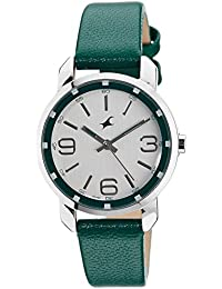 Fastrack Analog Silver Dial Women's Watch -NK6111SL01