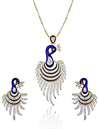 Amana Jewels Multicolour Alloy Necklace Set For Women