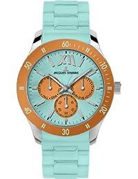 Jacques Lemans Sports Unisex-Armbanduhr Rome Sports Analog Silikon 1-1691K