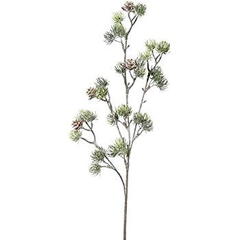 Zapfen Zweig leicht beglittert. K/ünstlicher KIEFERNZAPFENH/ÄNGER 20 cm